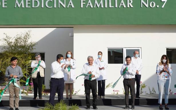 El presidente inaugura en Tamaulipas la Unidad de Medicina Familiar  No. 7, que beneficiará  a unos 60 mil derechohabientes