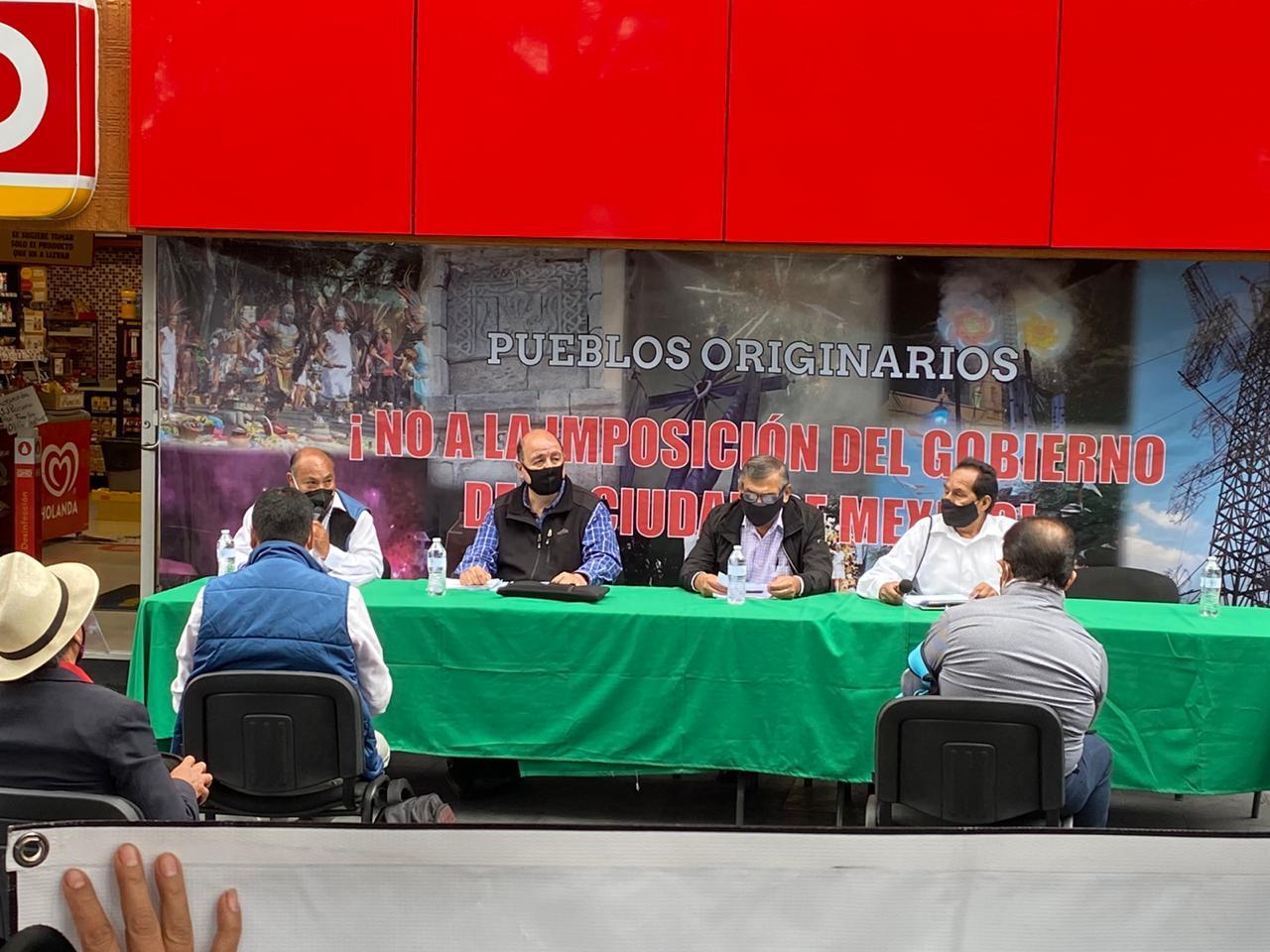Protestan en Avenida Cuauhtémoc contra ampliación de la Línea 3 del Metrobús