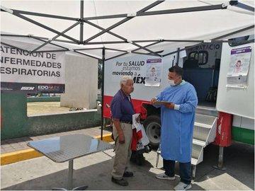 Brindan Secretaría de Salud e ISSEMYM más de 52 mil atenciones en unidades médicas móviles del Estado de México