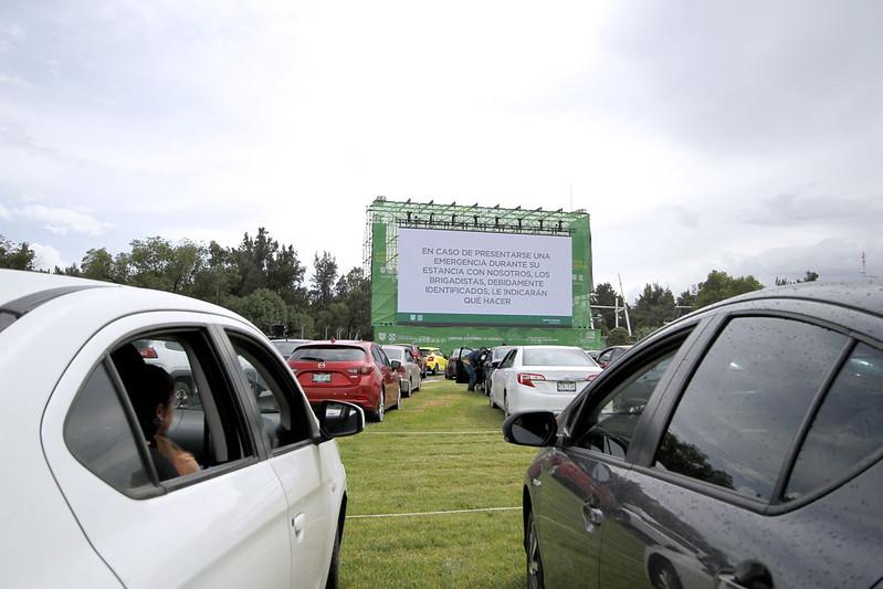 Autocinema Mixhuca concluirá funciones con El sueño del Mara'akame y La leyenda del Charro Negro