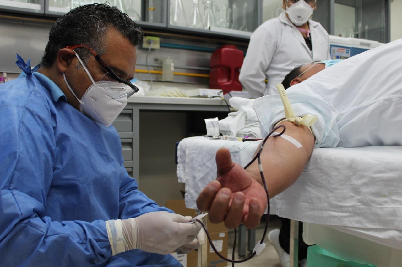 Cierra con 101 unidades de sangre la Tercera Jornada de  Donaciones Itinerantes