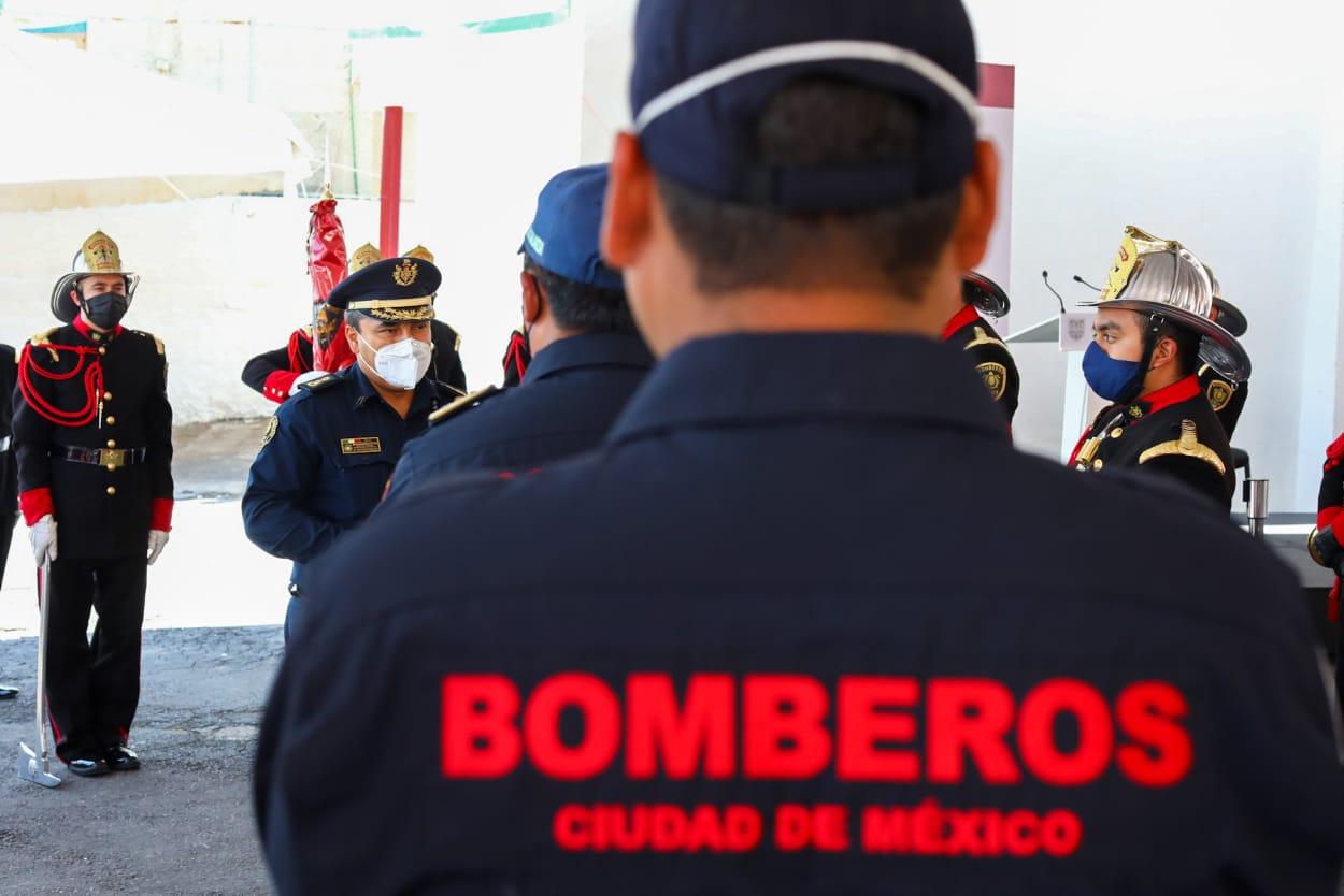 Invierte Gobierno Capitalino 35 MDP en nueva estación del H. Cuerpo de Bomberos Mila Alta y par vial en San Gregorio Atlapulco