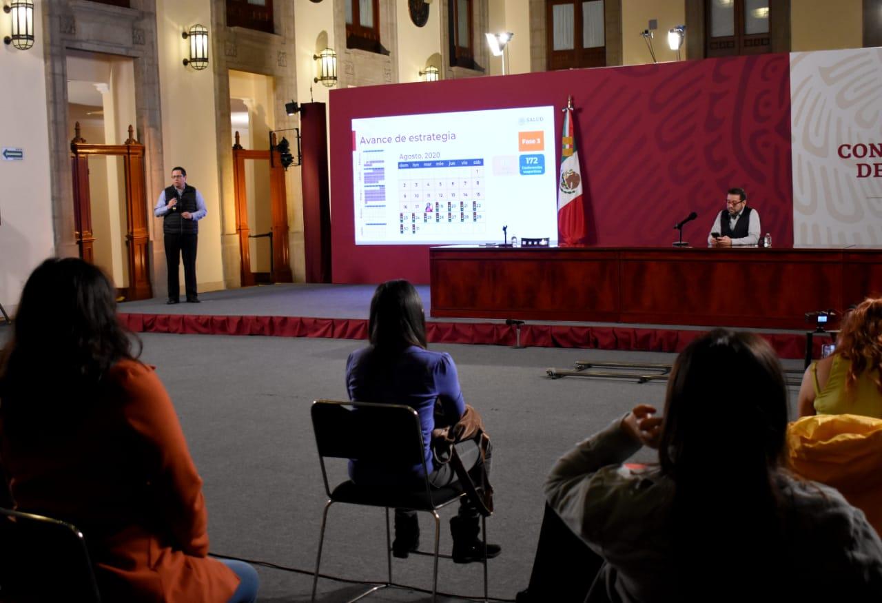 México registra 57 774 defunciones por COVID-19 y  531 239 casos confirmados: SSA