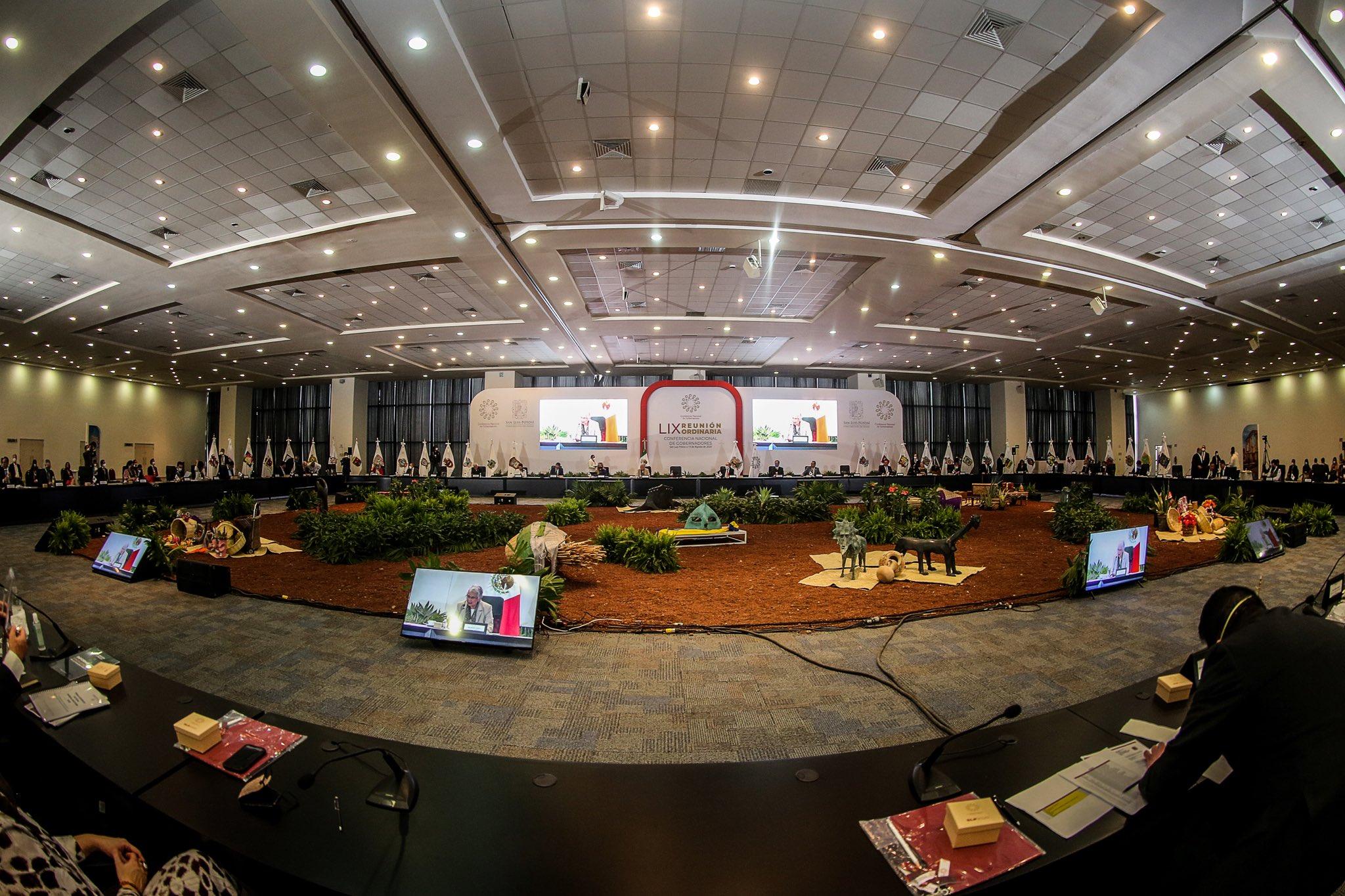 Conago realizó su LIX Reunión Parlamentaria, reforzando el pacto federal