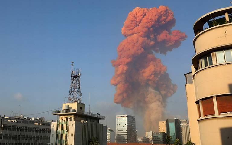 Alerta por gases tóxicos tras explosión en Beirut
