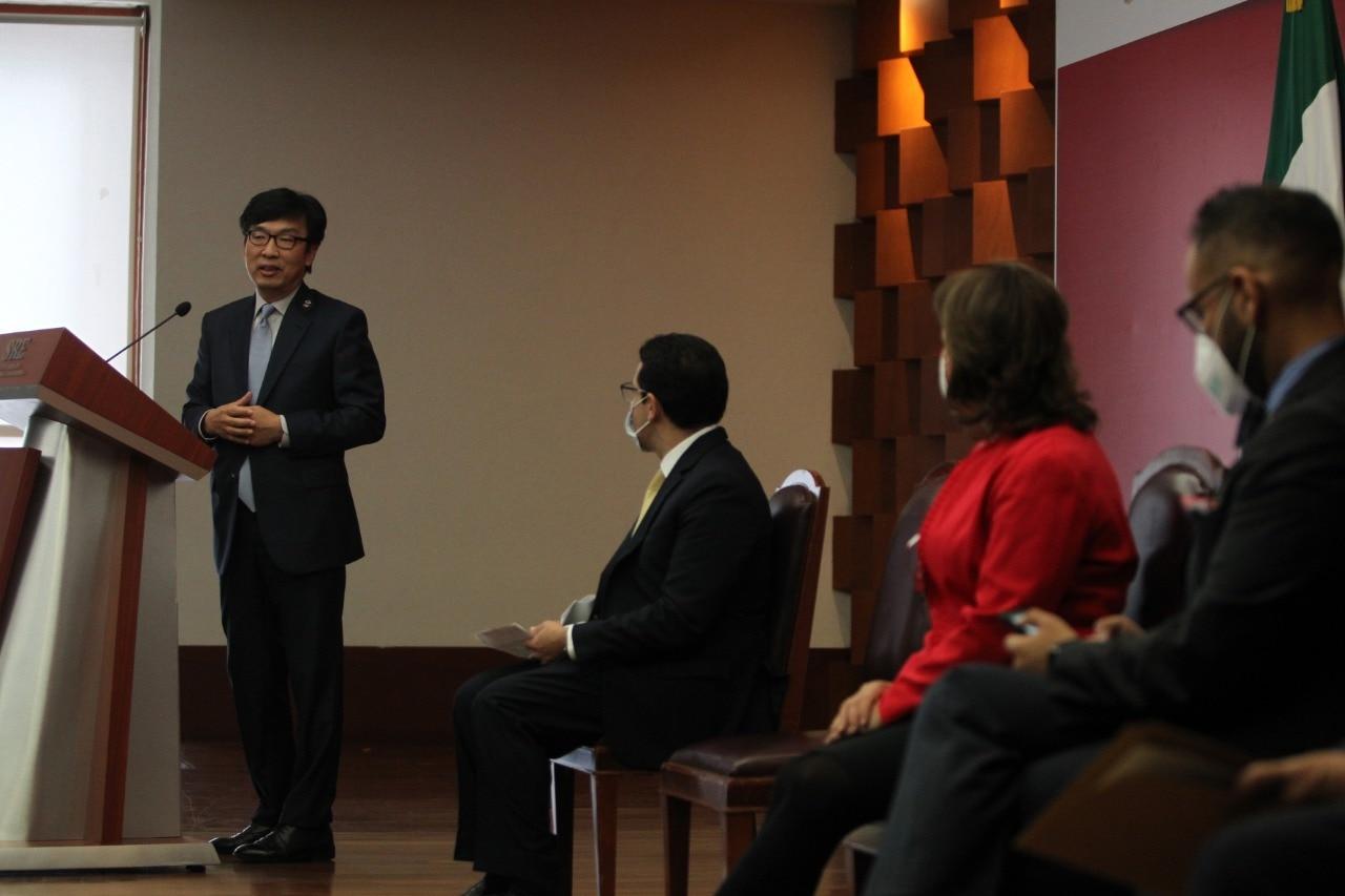 La SRE recibe apoyo destinado al sector salud para enfrentar la pandemia de COVID-19 por parte del Gobierno de la República de Corea