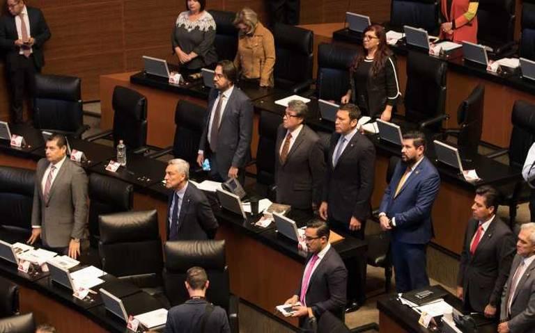 Aprueban nuevo presidente de la Mesa Directiva en el Senado