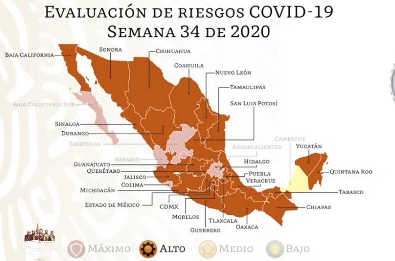 México registra 55 908 defunciones por COVID-19 y 511 369 casos confirmados: SSA
