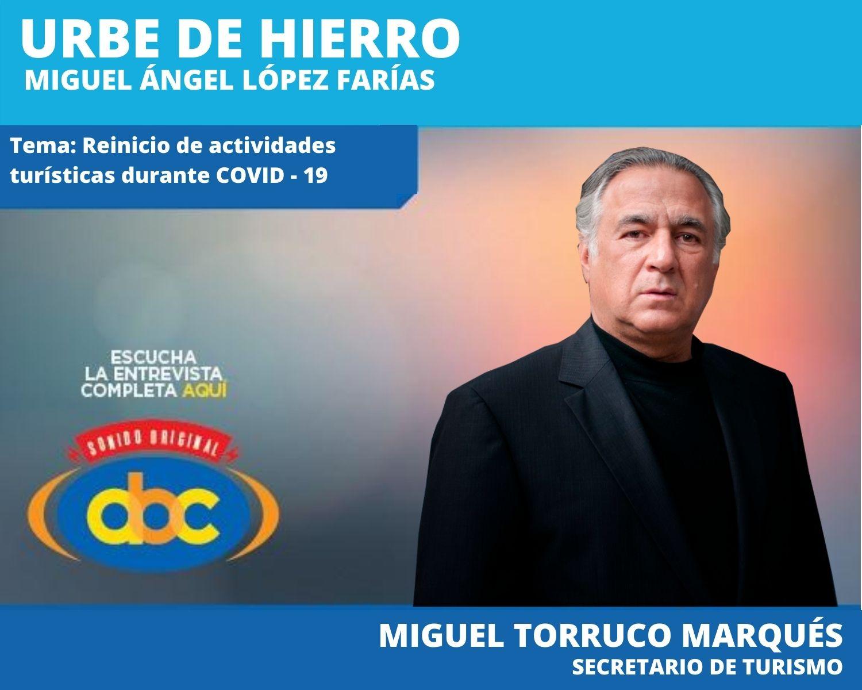 Se va a apostar por el turismo interno, lo que representó el año pasado 124 mil mdd: Torruco Marqués