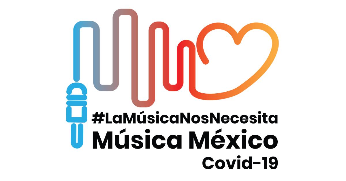 La iniciativa Música México Covid-19 lanza nueva etapa de recaudación de fondos