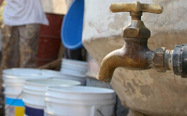 4 municipios del Estado de México afectados por corte de agua