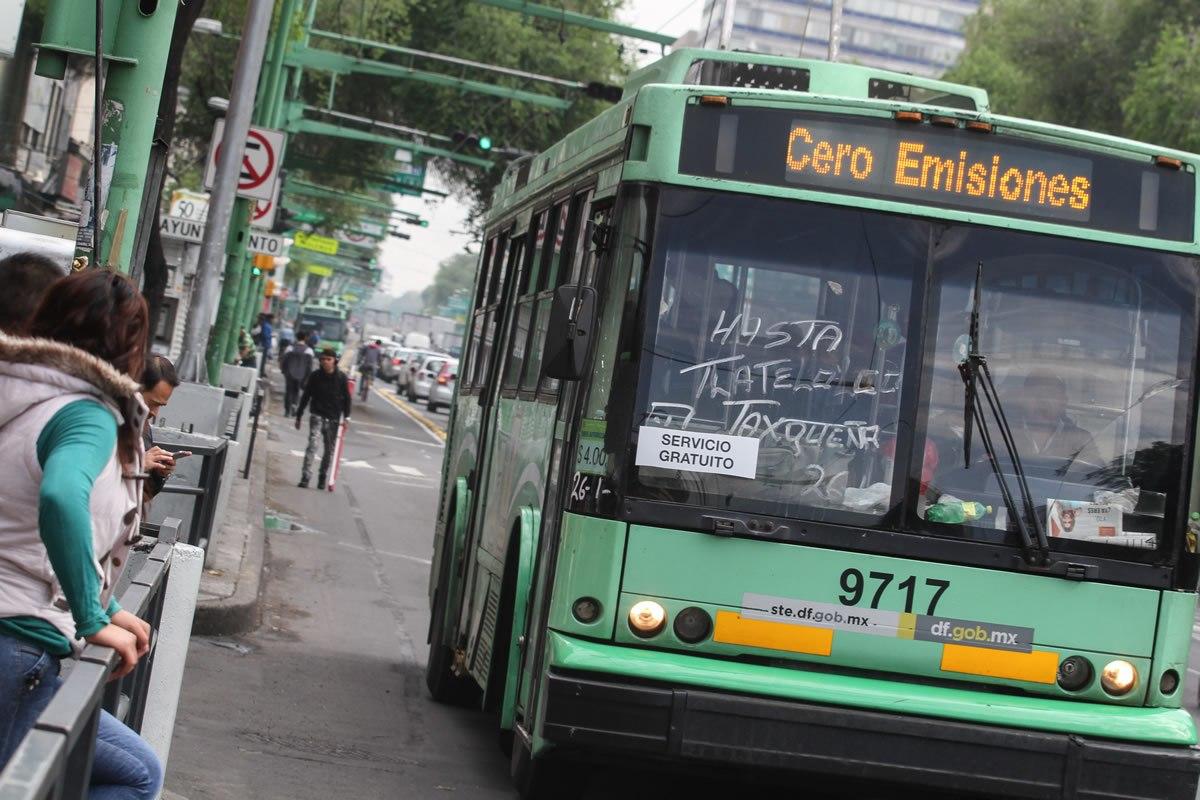 El Gobierno Capitalino invierte más de 6 mil mdp en proyectos de transporte público