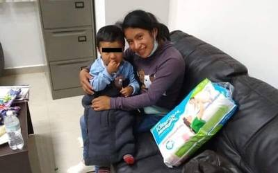Fue encontrado Dylan, el niño desaparecido en Chiapas