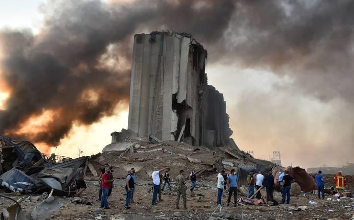 Hospitales en Beirut llenos de heridos por explosiones