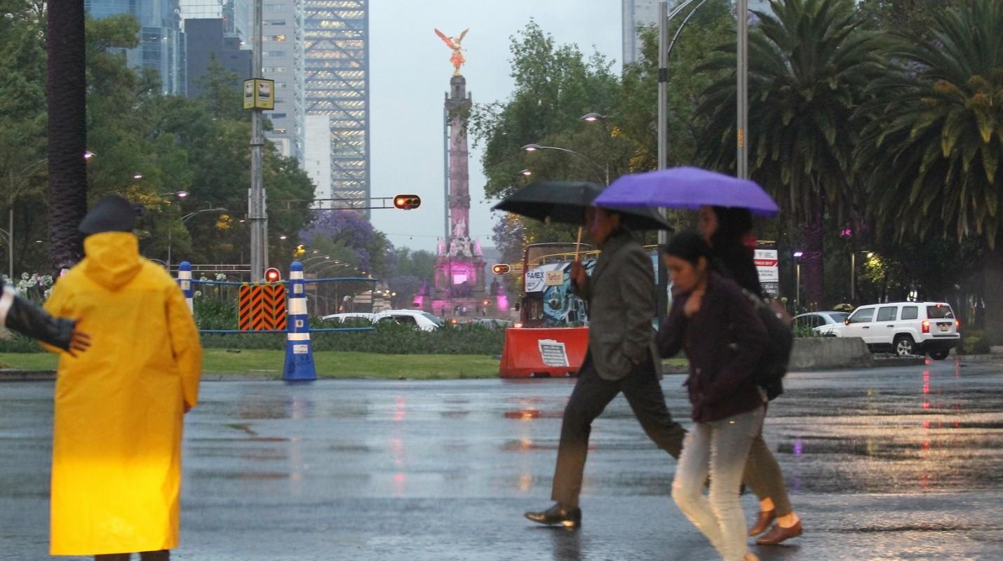 Se prevén este martes lluvias, tormentas y actividad eléctrica al sur y poniente de la capital
