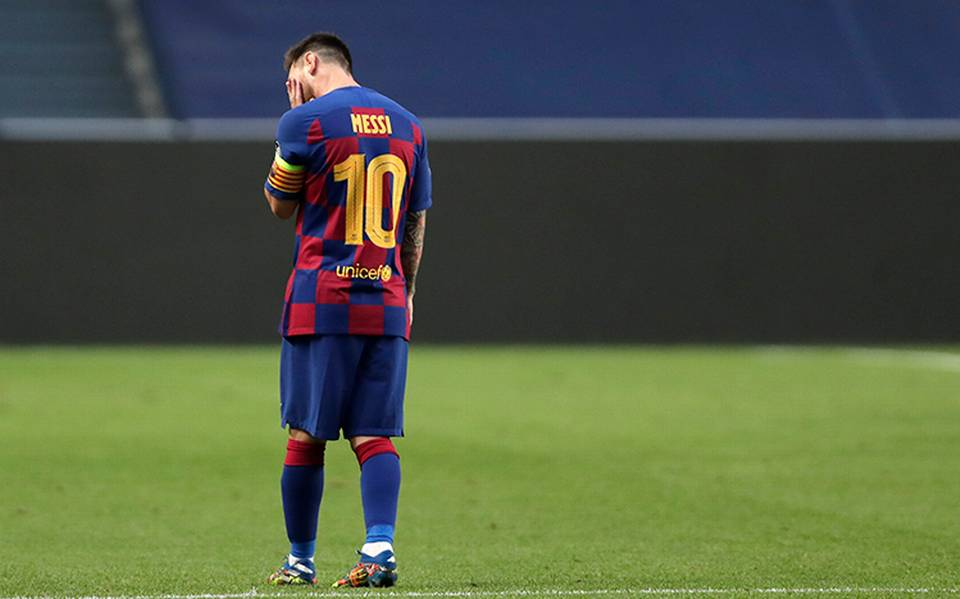 ¿Messi pide salir del Barcelona?