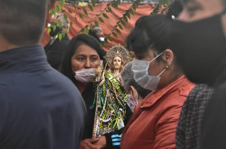 Reabre el templo de San Hipólito, recibiendo a cientos de fieles devotos de San Judas Tadeo
