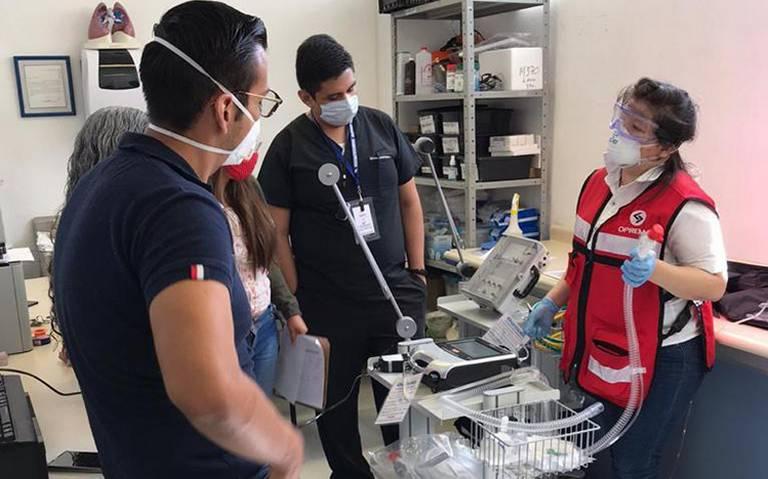 Empresas mexicanas se unen para desarrollar ventilador de bajo costo contra COVID-19