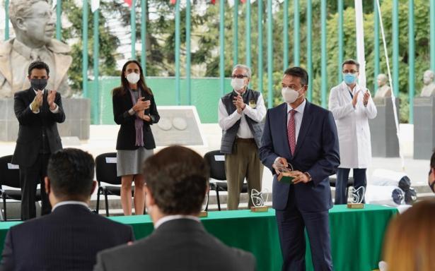Exalta el ISSSTE labor del personal de salud en la pandemia
