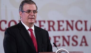 México confirmó su interés de  participar en el mecanismo Covax Facility,  para adquirir vacunas  necesarias contra Covid 19