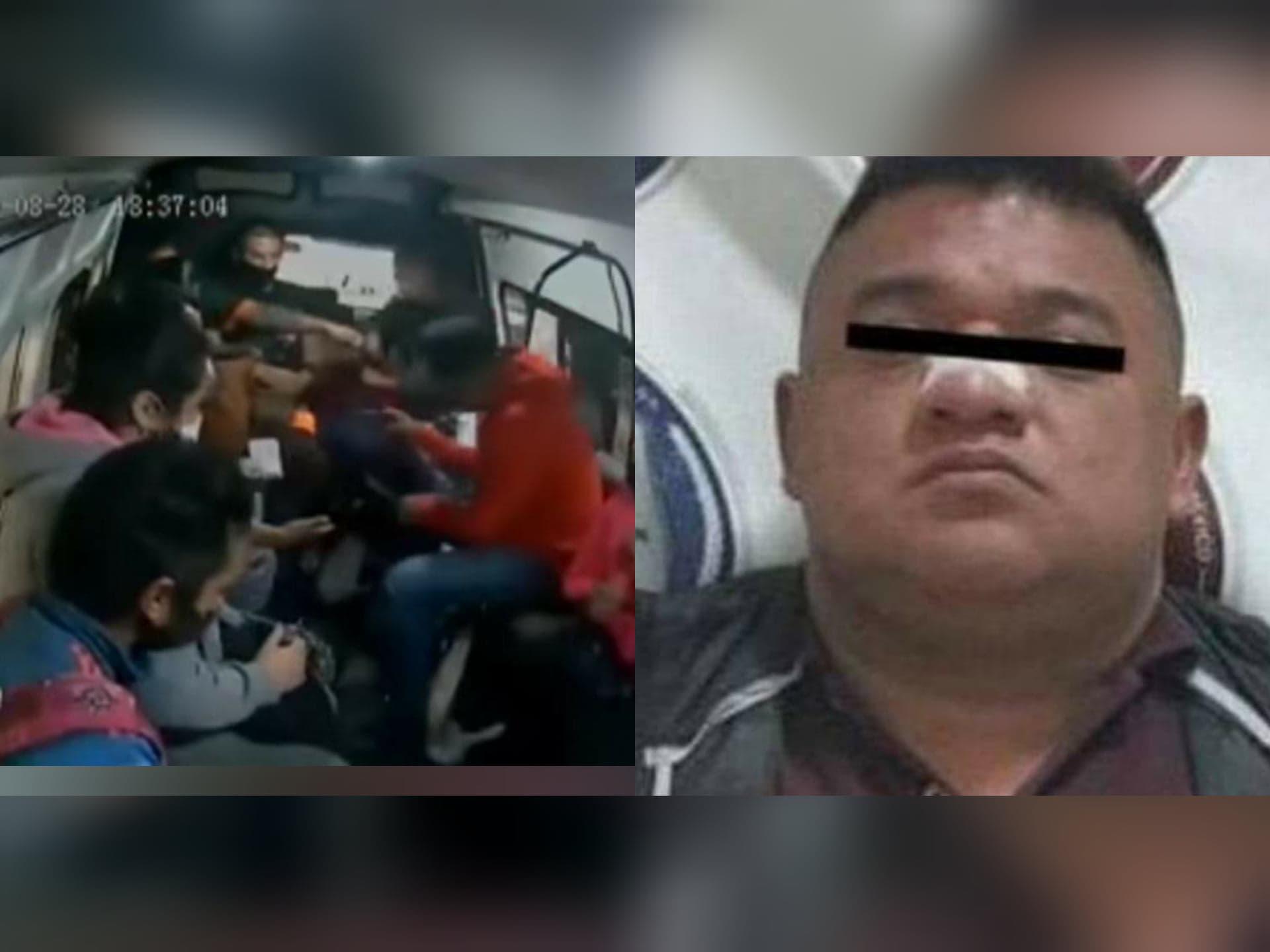 Detienen al ladrón de la combi, que disparo a un joven de 24 años