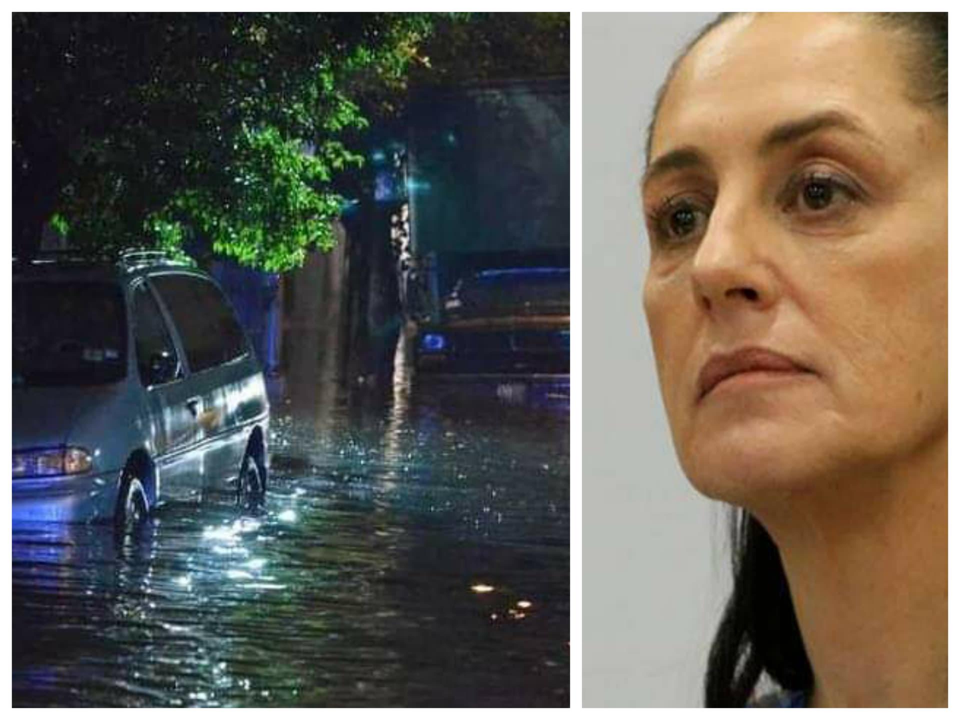 Apoyo económico los afectados por las lluvias en la Ciudad de México