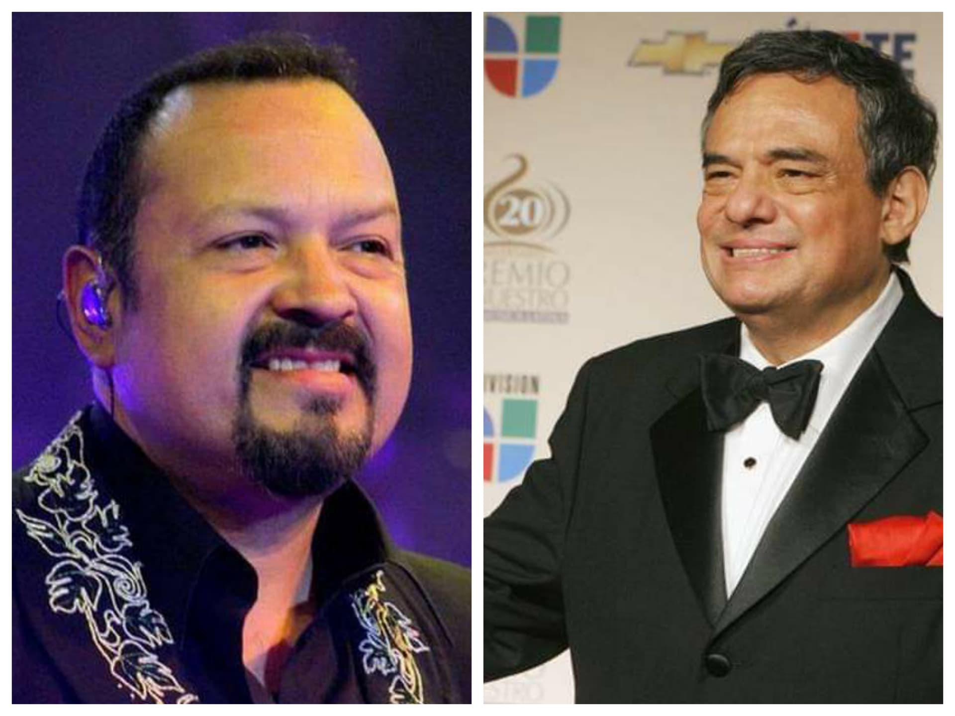 Cadena de televisión se equivoca y confunde a José José con Pepe Aguilar