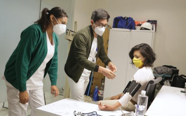 Realiza IMSS la quinta jornada itinerante para donar sangre