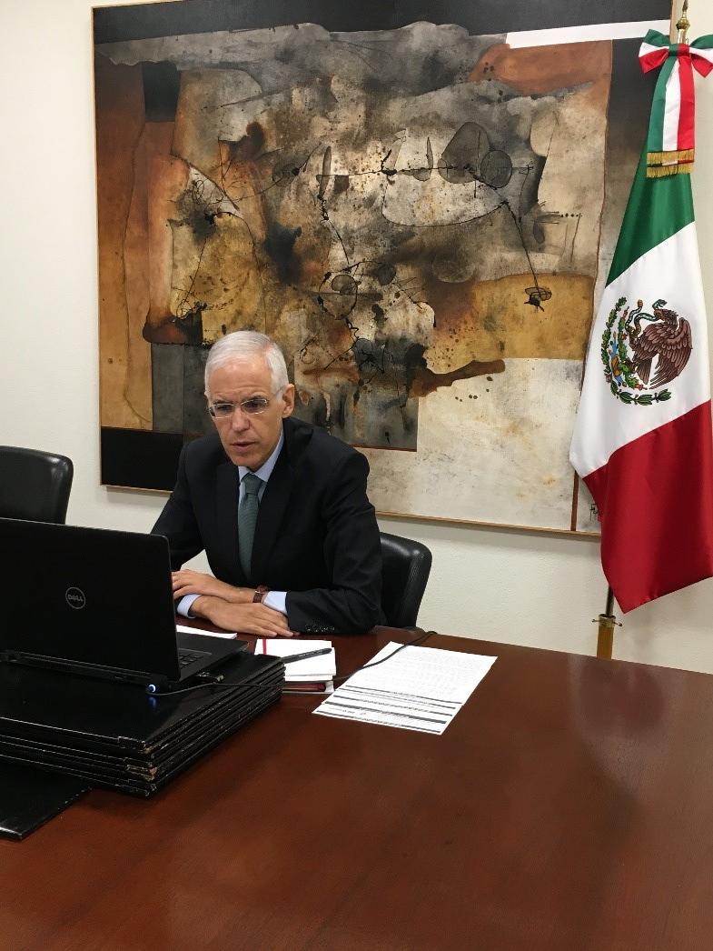 México y Egipto acuerdan impulsar el diálogo político y la cooperación