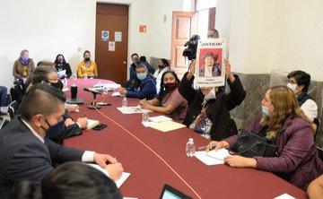 Atiende Gobernación a familiares de víctimas de casos de feminicidio, homicidio y desaparición