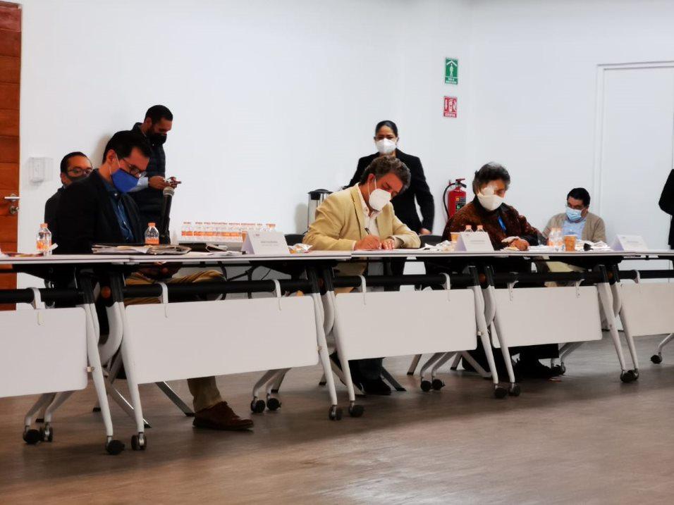 Encabeza Esteban Moctezuma Barragán revisión con legisladores de los avances en la Ley General de Educación Superior
