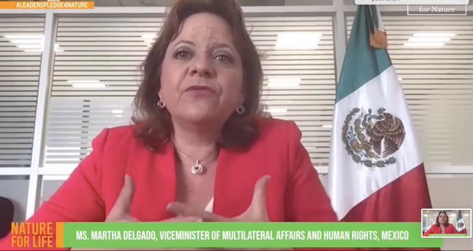 México suscribe la Declaración Voluntaria de Líderes por la Naturaleza y las Personas