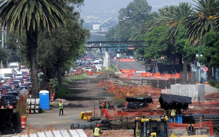 Se detiene la construcción del puente vehicular de Cuemanco