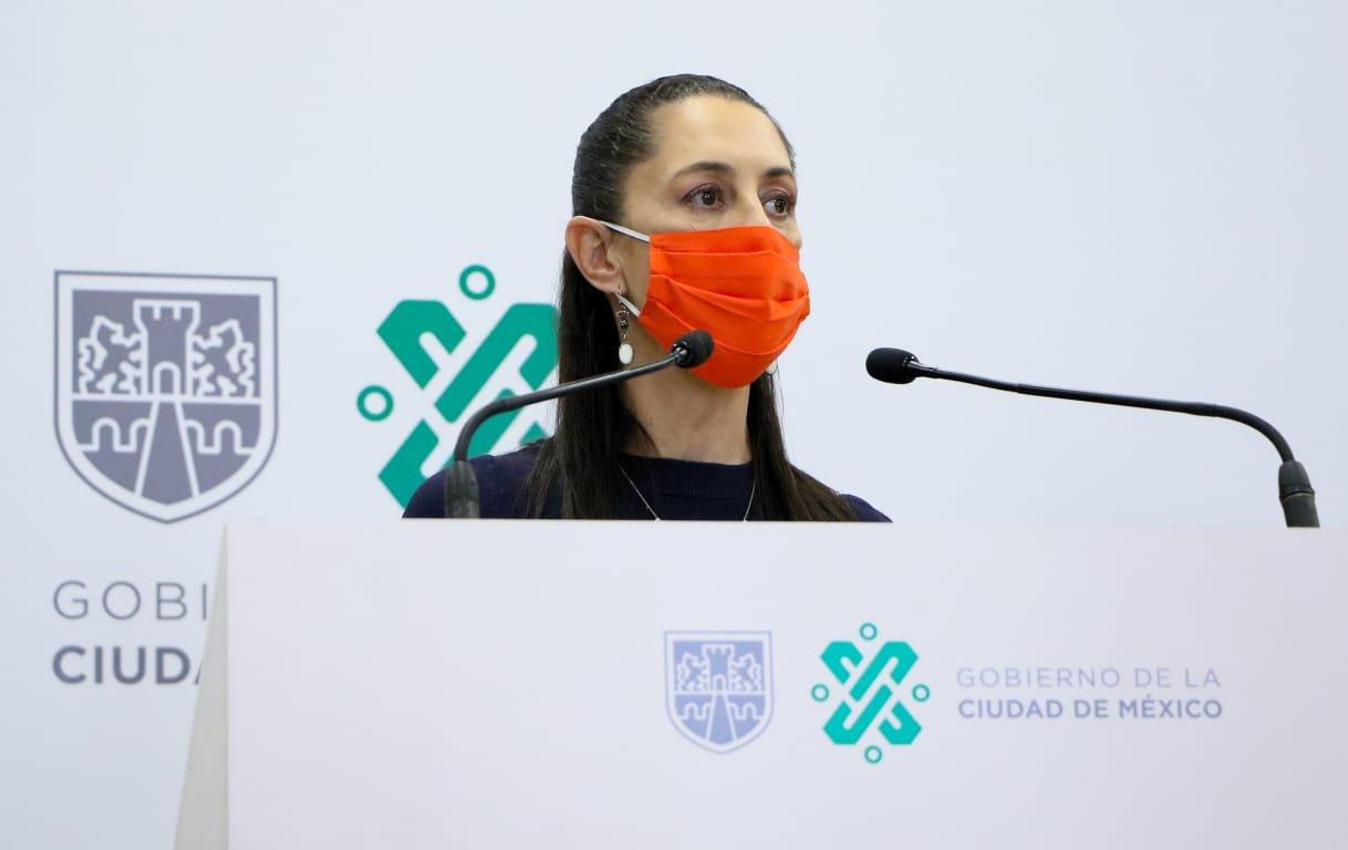 Se mantiene Ciudad de México en Semáforo Epidemiológico Naranja del 7 al 13 de septiembre