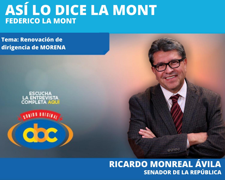 Será la SCJN quien determine si se realiza la consulta de juicio a expresidente: Monreal Ávila