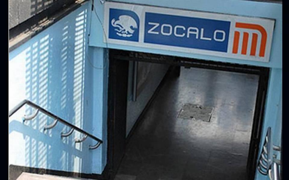 Desde hoy se cerrará la estación del Metro Zócalo de la Ciudad de México