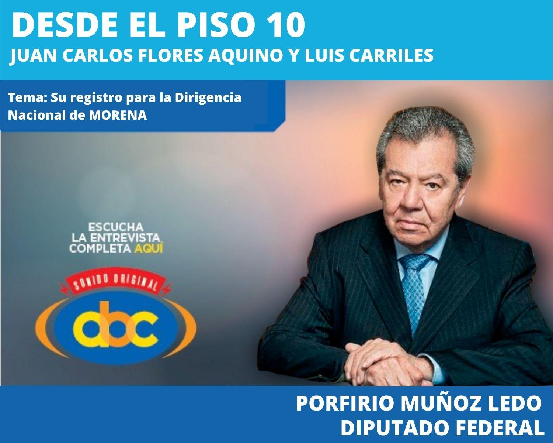 No podemos aceptar que el dinero compre las elecciones: Porfirio Muñoz
