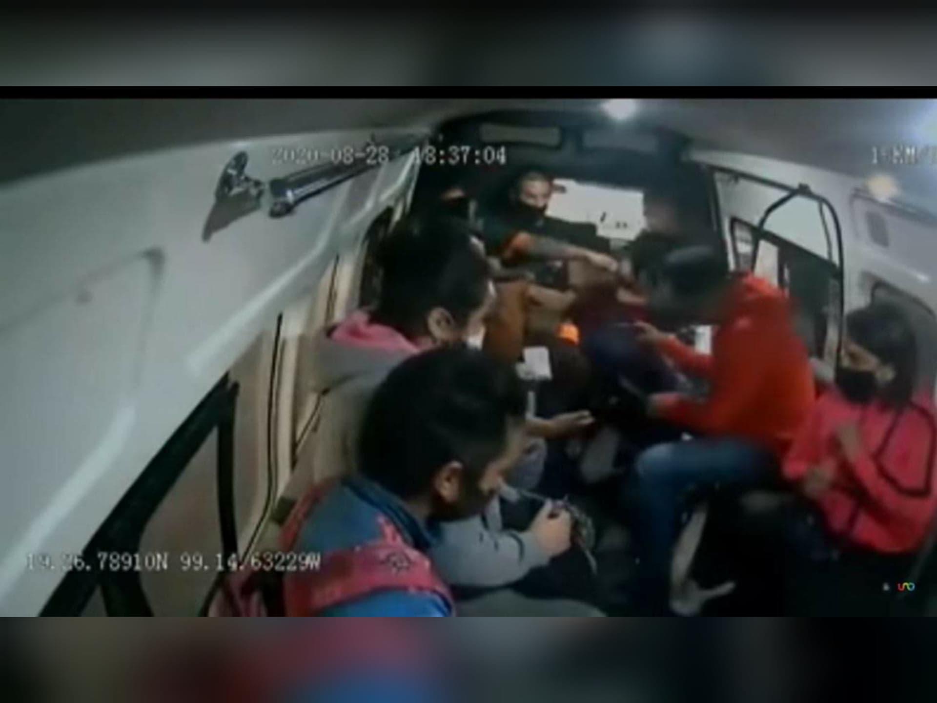 Dos robos en 10 minutos en transporte del Estado de México cobra la vida de un pasajero