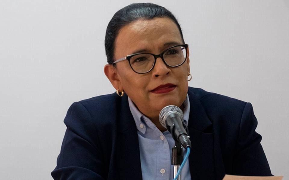 Rosa Icela Rodríguez Coordinadora General de Puertos y Marina Mercante dapositivo a COVID-19