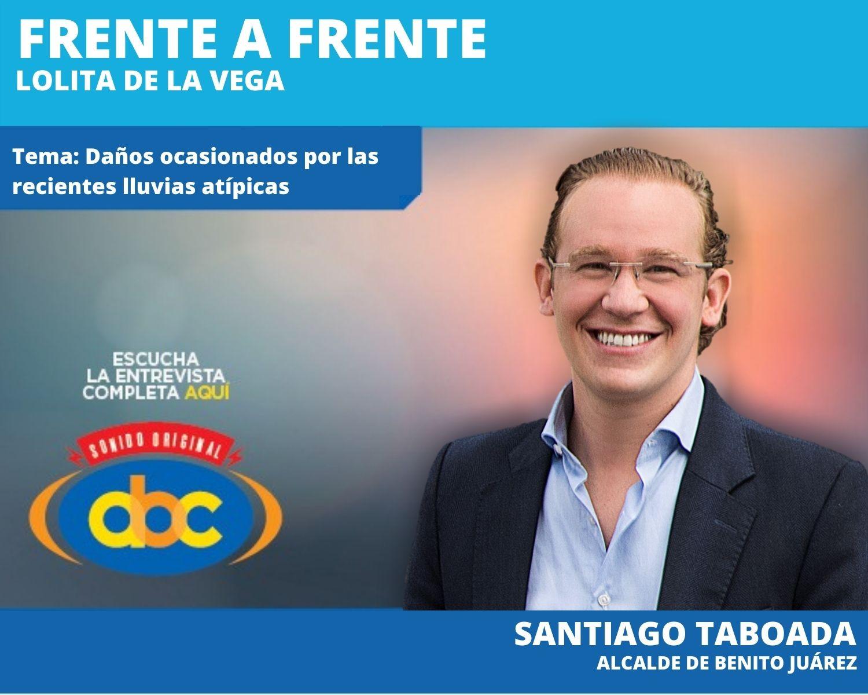Se esta buscando que el Seguro de la Ciudad de México cubra los gastos de los vehículos y departamentos: Santiago Taboada