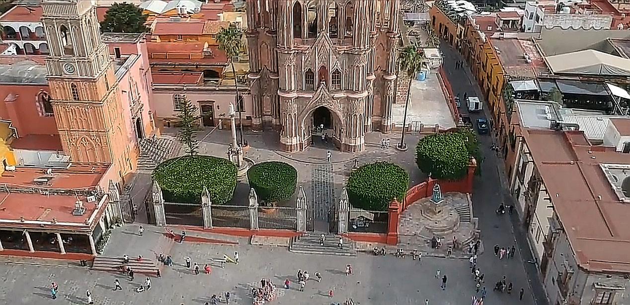 El centro de San Miguel de Allende cerrará su acceso el 15 de septiembre