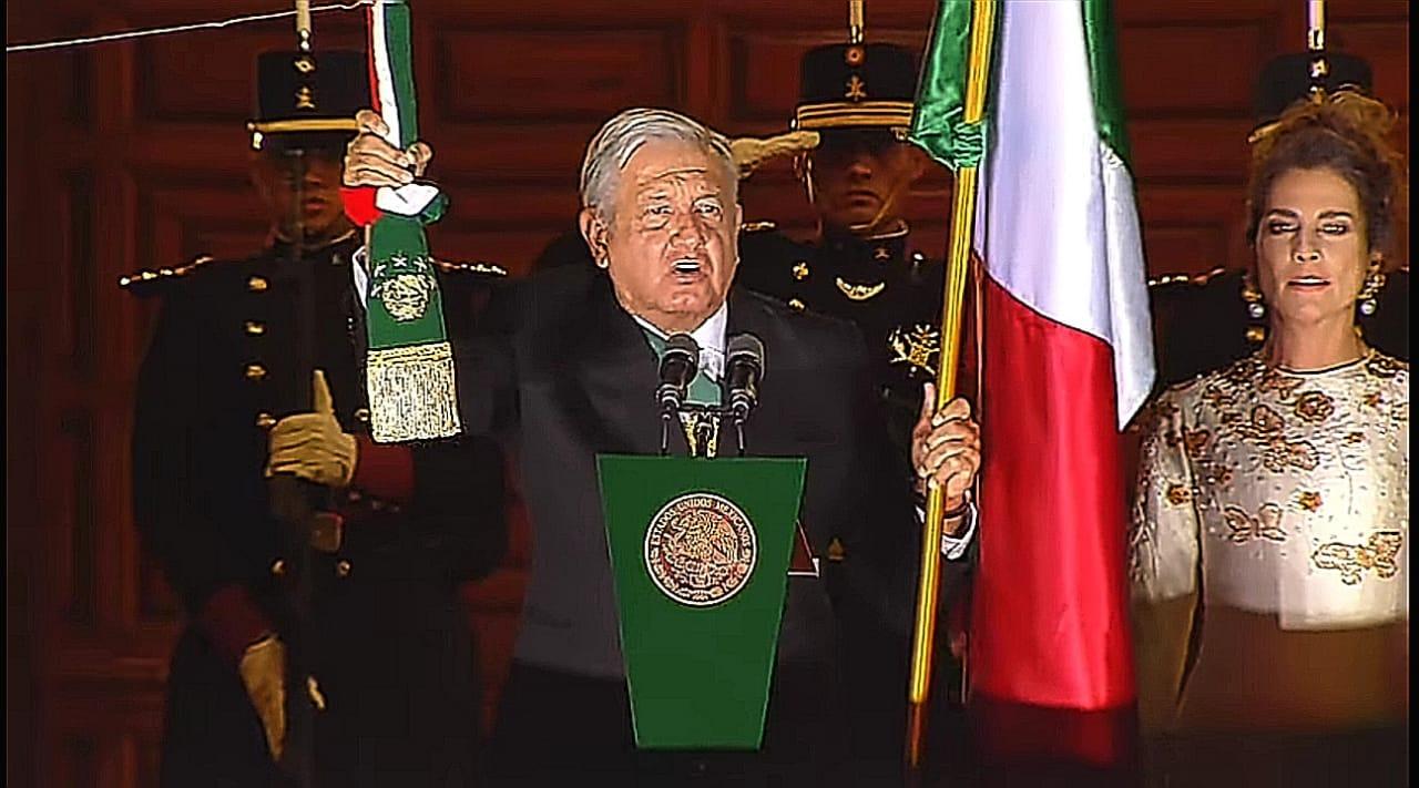 Así se vivió el grito de Independencia en el Zócalo Capitalino de la Ciudad de México