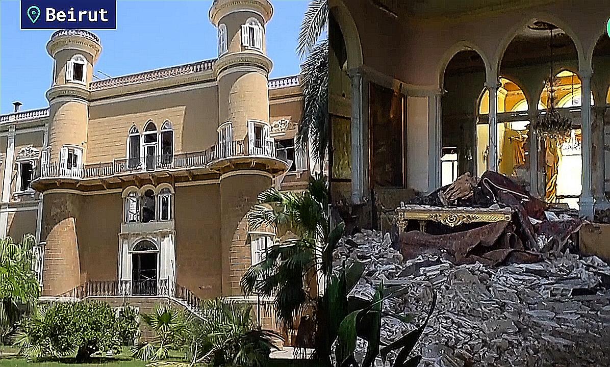 Se realiza homenaje por los fallecidos de la explosión en el Palacio de Beirut