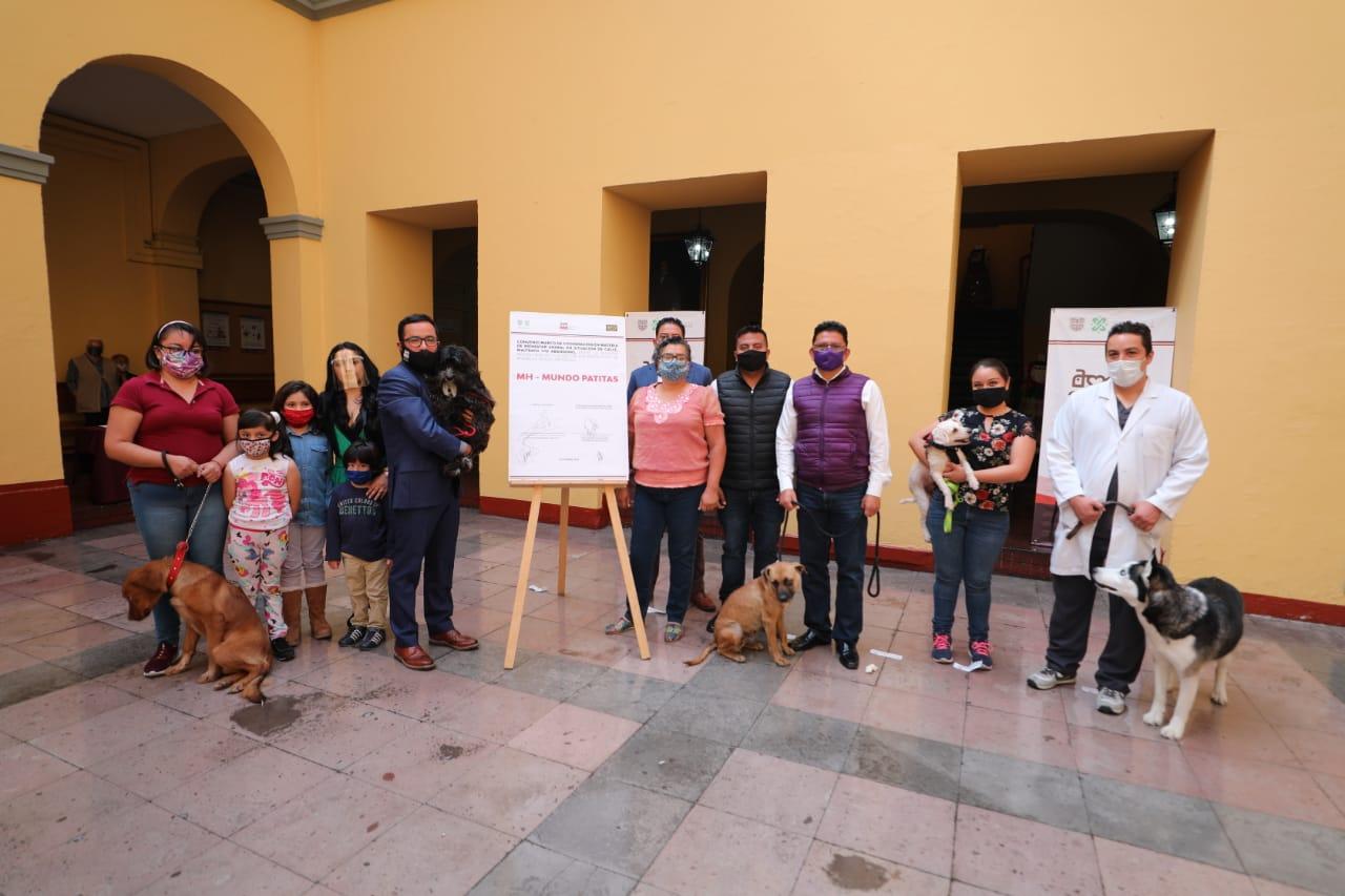 Impulsa Alcaldía Miguel Hidalgo adopción y tutela responsable canina
