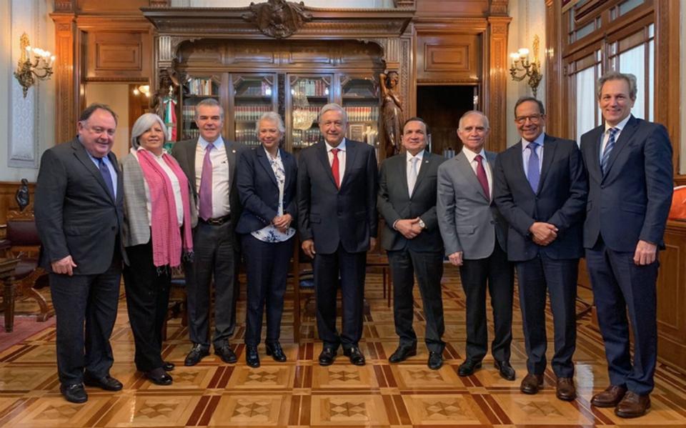 """El Presidente Andrés Manuel dijo a los empresarios: """"No tengo más que decirles gracias en nombre del gobierno y de nuestro pueblo"""""""