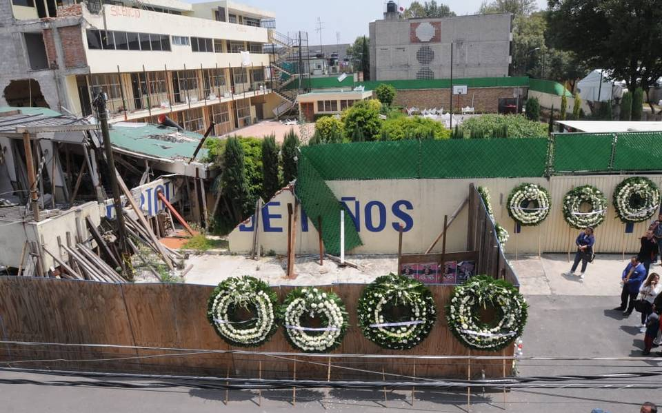 Aún no hay fecha parala construcción del memorial de las victimas del colegio Rébsamen