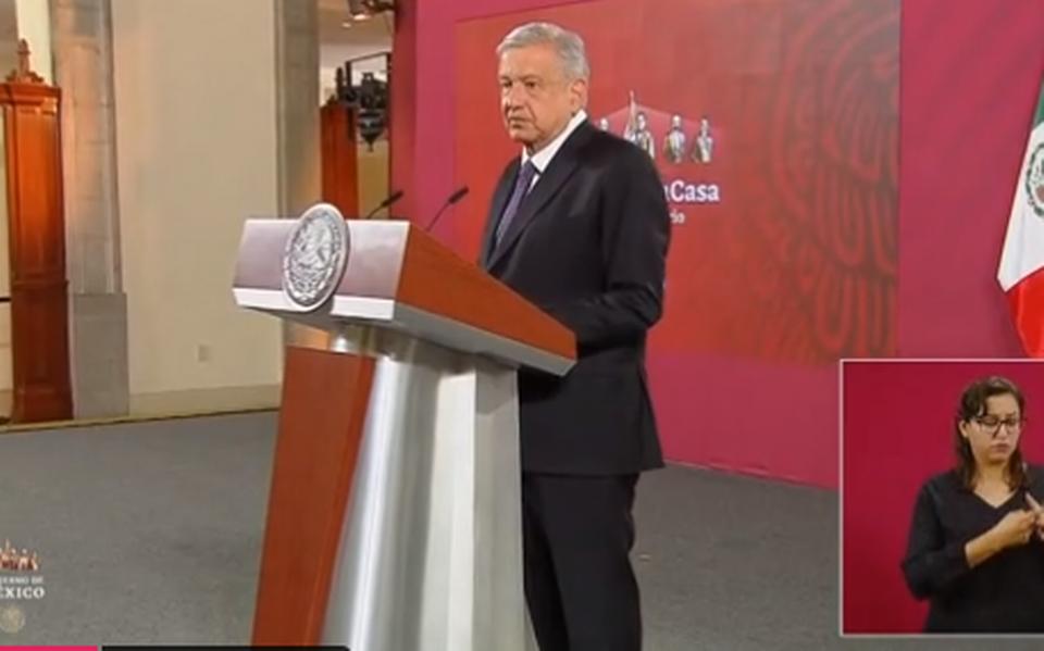 López Obrador afirma que si deja de tener el apoyo popular se iría sin esperar la revocación del mandato