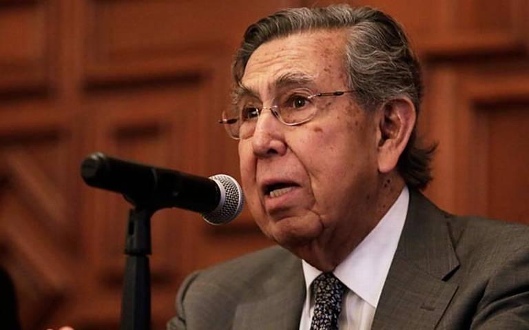 Cuauhtemoc Cárdenas tiene Covid 19 reveló el presidente