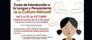 """La AlcaldíaTlalpan promueve """"Curso de Introducción a la Lengua y Pensamiento de la Cultura Náhuatl"""""""