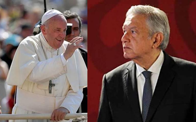 El Presidente Andrés Manuel advirtió que demandara al INE por censura, ya que el Instituto quitó la parte donde hace mención al Papa Francisco